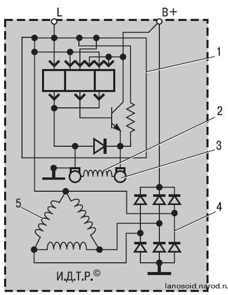 Схема генератора для поверхностной закалки.  Схема статического металлоискателя.